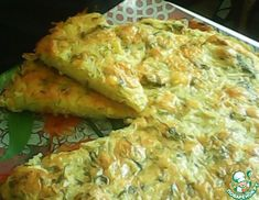 Рецепт: Пирог из тертого картофеля с сыром