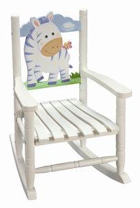 Safari Zebra Rocking Chair