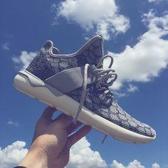 Adidas Originals Tubular Runner Primeknit Blue/Black/White