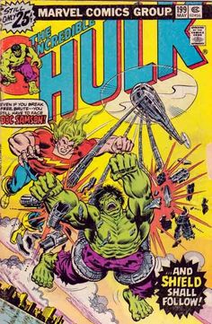 The Hulk is a fictional character, a superhero in the Marvel Comics Universe. Created by Stan Lee and Jack Kirby, the character first appeared in The Incredible Hulk (May Marvel Comics Superheroes, Marvel Comic Books, Marvel Heroes, Comic Books Art, Comic Art, Book Art, Hulk Marvel, Marvel Characters, Cartoon Characters