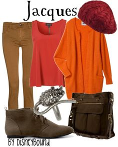 Orange and Red...probably my favorite color combo ever!