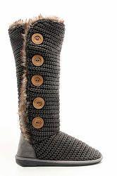 GREY KNIT BOOT (0540GR) $56 Converse Chuck Taylor High, Converse High, High Top Sneakers, Knit Boots, Chuck Taylors High Top, High Tops, Footwear, Knitting, Grey