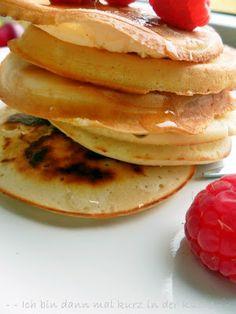 Ich bin dann mal kurz in der Küche: Pancakes - Ein guter Start in den Tag