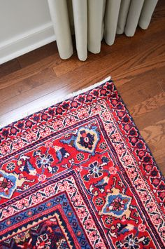 A full rug buying guide, including our top picks for material, pattern, price, and even guidelines for picking the right sized rug for your space. Hide Tv Wires, Tv Cords, Young House Love, Hidden Tv, We Buy Houses, Interior Rugs, Wall Mounted Tv, Carpet Stains, Inspired Homes