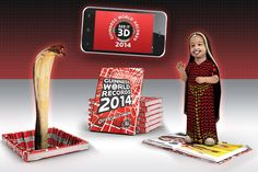 3D Streaming - STEREOSCOPY - Topic: Guinness World Records 2014 3D APPS   Smartphones and tablets (1/1)