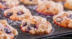 American Blueberry Muffins Rezept
