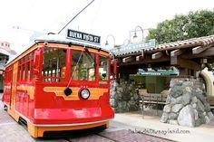 Babes in Disneyland -- peek inside Disney California Adventure and see a little bit of the Brand New Buena Vista Street.  So beautiful.