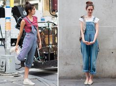 Streetstyle: Dungarees