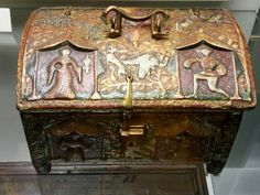 Casket, France, end of 14.century, Now in North Bohemia museum, Liberrc