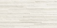 #MORE #Bianco #12x24 #Muretto #3D #sculpted #rectified #wall #tile from #MidAmericaTile | #InnovativeLooks #white #OffWhite