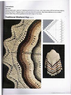 Legacy of Shetland Lace. - запись пользователя natalca (Наталия) в сообществе Вязание спицами в категории Вязание спицами аксессуаров