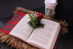 Is there anything better than warm coffee and good book dressed in NushIv Couture fabric book cover? nushivcouture.com