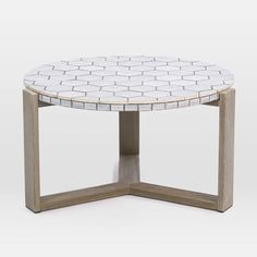 Mosaic Tiled Coffee Table - Spider Web | west elm