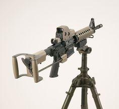 AR-15/M-16 Spade Grip Accessory