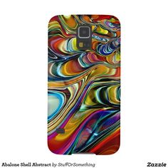 Abalone Shell Abstract Case For Galaxy S5