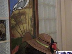 the home seller has a hat! (good to know)