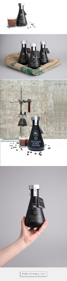 Nitro Coffee Packaging by Jon Cooper Fivestar Branding – Design and Branding Agency & Inspiration Gallery Food Packaging Design, Beverage Packaging, Coffee Packaging, Bottle Packaging, Pretty Packaging, Packaging Design Inspiration, Brand Packaging, Branding Design, Branding Agency