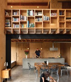Davor (with his wife, Abbe, and son, August) designed the main living and dining pavilion as a double-height space to increase its percei...