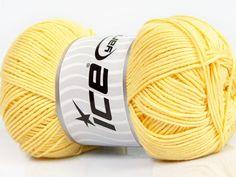 Fiber Content 50% Bamboo 50% Cotton Yellow Brand Ice Yarns fnt2-44115 Yellow Bamboo, Baby Bamboo, Yarn Shop, Yarns, Free Pattern, Fiber, Colours, Throw Pillows, Cotton