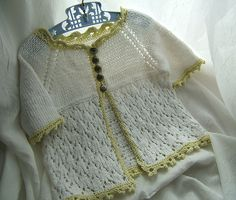 Ravelry: Laci Bebe Cardi pattern by Peggy Bumgardner
