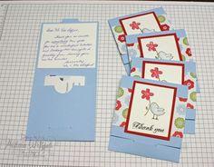 stampin' Up! Gift card holder