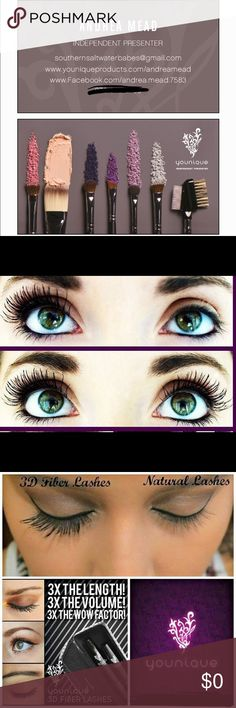 Younique! Younique brand makeup and skin care for all skin types. Fall in love with our amazing 3D Fiber Lashes! Makeup