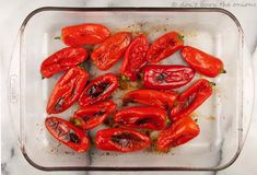 How to Roast Sweet Piquillo Peppers