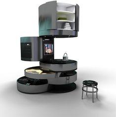 Round magnificent kitchen