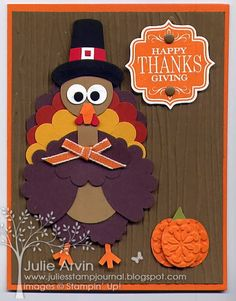 Best DIY Ideas of Handmade Thanksgiving Cards Picture 36 - Awesome Indoor & Outdoor Diy Thanksgiving Cards, Fall Cards, Holiday Cards, Christmas Cards, Thanksgiving Turkey, Thanksgiving Quotes, Thanksgiving Desserts, Christmas Desserts, Happy Thanksgiving