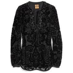 Tory Burch Auden Tunic ($333) ❤ liked on Polyvore