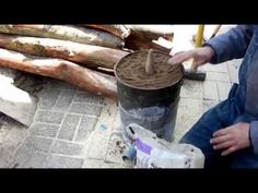 """""""Fire Dough"""" and the Sawdust Stove for Muddy Biomass Fuel Briquette Alcohol Vegetable Oil TLUD - YouTube"""