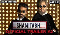 #Shamitabhtrailer2 #AmitabhBachhan along with other maestro launched Shamitabh Music and Shamitabh trailer