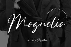 Modern Script Font, Modern Fonts, Script Fonts, New Fonts, Signature Fonts, Signature Style, Magnolia Font, Cool Signatures, Wedding Logos