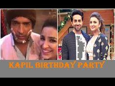 Kapil celebrating his Birthday with Parineeti Chopra and Ginni