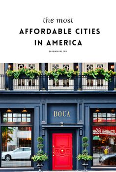 You'd be surprised how affordable these American cities are to live in