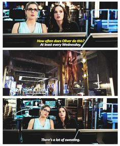 Arrow - Caitlin and Felicity #3.8 #Season3 ♥
