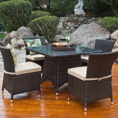 C Coast Dublin All Weather Wicker Dining Table Traditional Is Given A Contemporary Makeover In This
