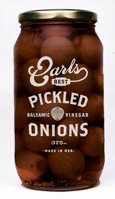 Earls Best Pickled onions - David Cran - Graphic Design