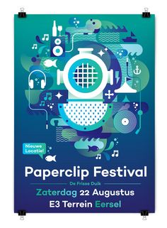 Paperclip Festival 2015 on Behance