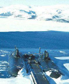 Typhoon Class Submarines.