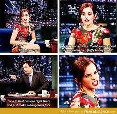 Ideas funny harry potter moments emma watson for 2020 Harry Potter Welt, Harry Potter Puns, Hogwarts, Oui Oui, Jimmy Fallon, Hunger Games, Katniss Everdeen, Celebs, Funny Celebrities
