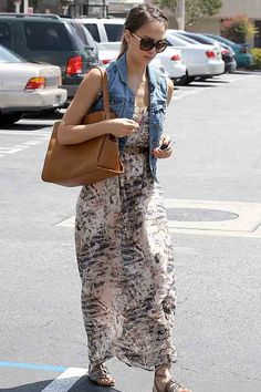 e2c2aeaafae Heartloom Anthea Maxi Dress in Buff As Seen on Jessica Alba Chic Summer  Style