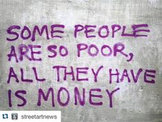 regram @sabrina_starke Think about it! #Repost @streetartnews  Street Poetry
