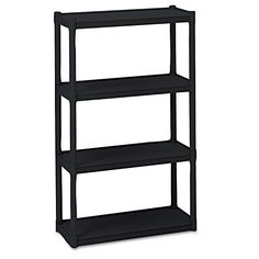 Utility Shelves Walmart Prepossessing Walmart $1347 Plano 4Tier Heavyduty Plastic Shelves White  New Design Ideas