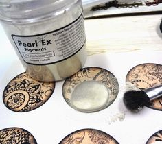I LOVE RESIN: Jewelry Clay Components - Pretty on the Front and Back!