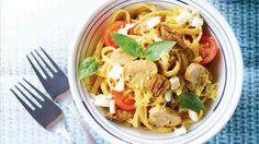 Two-Cheese Adobo Cream Pasta Recipe | Recipe | yummy.ph