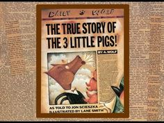 The TRUE story of the 3 little pigs by A.Wolf as told to Jon Scieszka. Grandma Annii's Story Time