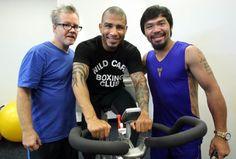 Miguel Cotto entrena con Freddie Roach en Los Angeles; Visita sorpresa de Manny Pacquiao (FOTOS) - The Pugilist Report™