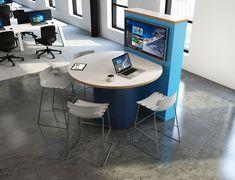 Commercial Offices – Spatial Design Workplace Wellness, Workplace Design, Commercial Design, Office Interiors, Office Furniture, Corner Desk, Workspaces, Interior Design, Offices