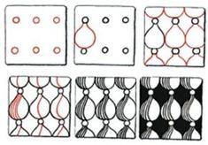 Accordion by Suzanne McNeill, Certified Zentangle Teacher Zentangle Drawings, Doodles Zentangles, Doodle Drawings, Tangle Doodle, Zen Doodle, Doodle Art, Doodle Patterns, Zentangle Patterns, Doodle Borders
